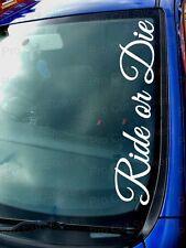 Ride/Schablone Paul Walker Custom Car Stoßstange Fenster-windschutzscheibe