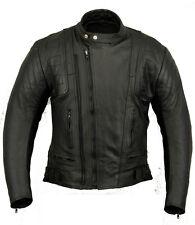 Stealth Ladies Leather Motorbike Protection Jacket Womens Motorcycle Wears