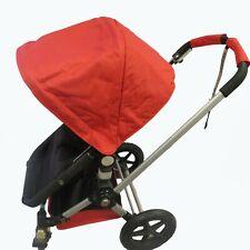 Rot Sonnendach Farbton Draht Sitz Futter Korb für Bugaboo Buggy Chameleon 1 2 3