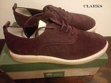 CLARKS Originals **Empress Lo Wine Suede ** Women's Desert Boots UK 7.5 RRP £110