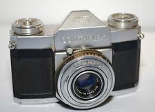 Contaflex Zeiss Icon  Camera Synchro-Compur Tessar f/2.8 45mm Lens
