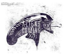 ALIEN ALIENS Ripley Xenomorph Prometheus Covenant Chestburster Men T-Shirt M-2XL