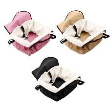 Folding Pet Dog Car Seat Safe Booster Cat Puppy Travel Carrier Bed Bag Basket