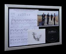 COLDPLAY God Smile LIMITED Nod CD MUSIC FRAMED DISPLAY!