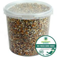 GardenersDream No Mess Seed Mix - All Year Round Wild Bird Food For Garden Birds