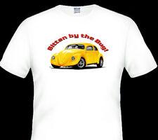 VW   BEETLE   WHITE  TSHIRT     MEN'S   LADIES   KID'S  SIZES