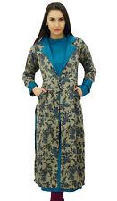 Bimba 2 Piece Teal Blue Kurta Kurti With Pashmina Shrug Jacket Winter Tunic