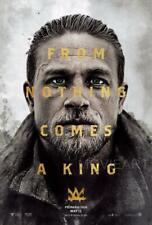 KING ARTHUR LEGEND OF THE SWORD CHARLIE HUNNAM POSTER FILM A4 A3 CINEMA MOVIE #2