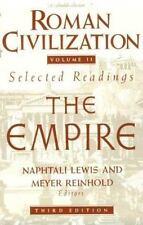 Roman Civilization: Volume 2: The Roman Empire: By Naphtali Lewis