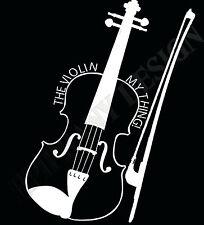 Violin camiseta Regalo Ideal Violinista Franela Violin My Thing! Clásico Música