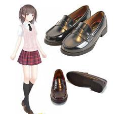 NEW 3 Colors Lolita Japanese School JK Uniform Flat Heel Students Cosplay Shoes