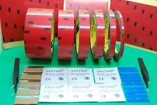 3 M ™ CP5108 Paquete de cinta de espuma de doble cara Kit con herramientas, cinta de automóviles, 3 M