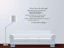 Ben Haenow Something i need Love Song Lyrics Quote Vinyl Sticker Wall Art