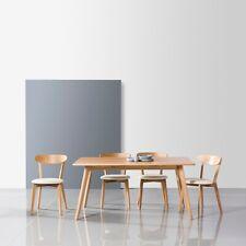Magnus 160cm Dining Table -Solid American Oak Wood- 6 Seater-Danish Scandinavian