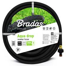 Bradas Tropfschlauch Aqua-Drop Perlschlauch/Gartenschlauch  Bewässerung Schwarz