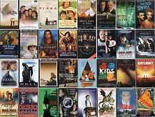 VHS Film-Komödie-Drama-Action-Krimi-Thriller-Erotik-FSK 0-16-Sammlung-Top Filme