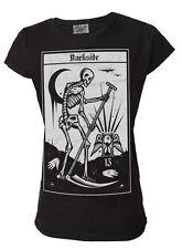 Darkside -  DEATH TAROT - Womens Capsleeve T-Shirt