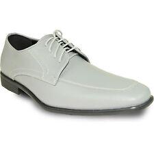 ALLURE MEN  AL01 Dress Shoe Formal Tuxedo Prom & Wedding Cement Grey