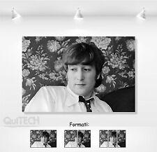 John Lennon - 3 - Quadro stampa su Tela Pelle Canvas Dipinto Arte Moderna