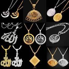 Ciondolo Allah Collana in Oro Islam Muslin Accessorio di