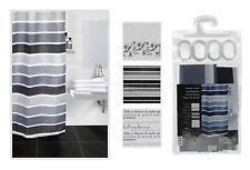 Cuarto de baño ducha Cortina Con Ganchos - 180 X 180 Cm