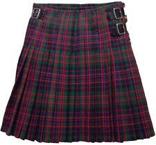 New Mens Scottish 100% Wool Kilt MacDonald Tartan 16oz SALE !!