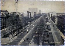 1961 MILANO Corso Sempione - Fotografia e ediz.Giesse - retro timbro Fiat 1300