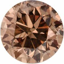 Natural Extra Fine Cognac Diamond - Round - VS2-SI1 - Africa - Extra Fine Grade