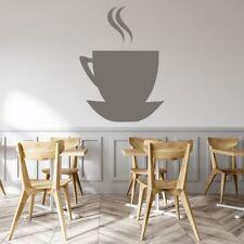 Filiżanka Do Kawy I Spodek Sylwetka Jedzenie i napoje Naklejki Na  WS-18475