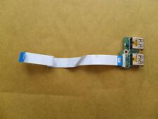 HP Pavilion G61 / Compaq CQ61 USB Ports + Ribbon  DA00P6TB6E0 ( 340P6UB0000