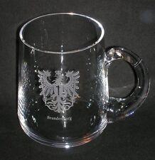 Bierseidel Spiegelau 0,5L mit graviertem Adler Brandenburg