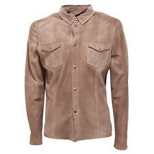 78686 giacca GMS-75 PELLE giacche capo spalla uomo jacket men
