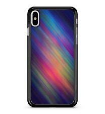 Multi Coloured Artistic Stripes Pattern Printed Aluminium 2D Phone Case Cover