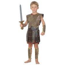 Guerrero Niños Griego Romano Soldado Disfraz