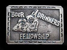 NA13133 VINTAGE 1979 **BEER DRINKERS FELLOWSHIP** BELT BUCKLE