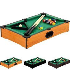 Mini Pool Billardtisch inkl. Zubehör, Maße: 51x31x10cm, Billard Billiard Spiel