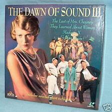 LD laserdisc DAWN OF SOUND III 4 features+ shorts