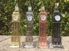 LONDON BIG BEN CRYSTAL GLASS CLOCK BRITISH SOUVENIR