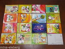 Diddl Postkarte J-Serie Deutsch AUSSUCHEN Rarität NEU
