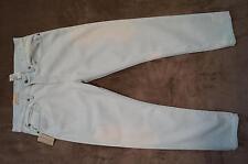 RALPH LAUREN  Boyfriend Jeans 7/8 Jeans  W28, 29 hellblau/weiß  NEU