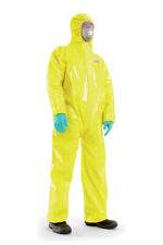 """Traje impermeable Química de protección categoría III TYP 3 ,4 ,5 ,6 - """"B"""" Virus"""