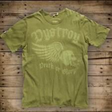 """DYSTROY Skull & Bones PREMIUM T-Shirt """"WINGED SKULL"""" / Regular Fit - Rundhals"""