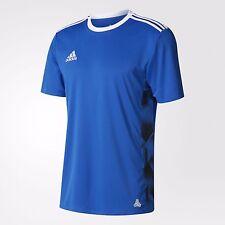 2018  Mens Adidas 3 Stripe TANGO CAGE  ADIDAS  Estro T-Shirt M -2XL EDITION blue