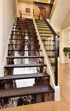 3D Hills Falls 103 Stair Risers Decoration Photo Mural Vinyl Decal Wallpaper AU