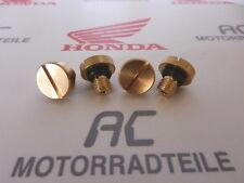 Honda CB 350 400 500 550 750 Four Vergaser Ablaßschraube screw fuel chamber