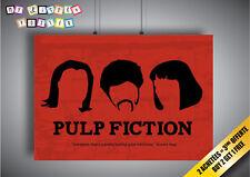Poster Pulp Fiction Print Fun Cool Home Deco Art