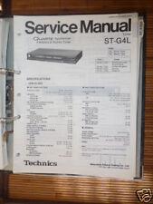 Service Manual für Technics ST-G4L Tuner,ORIGINAL