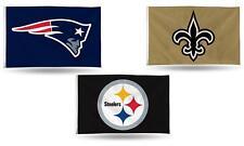 "NFL Banner Flag 3' x 5' (36"" x 60"") ~ All Football NFL Teams! New"