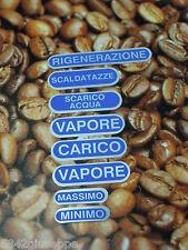 KIT ADESIVI MACCHINE DA CAFFE' FAEMA E61 *
