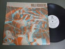 NILE RODGERS Japan Promo White Label LP B-MOVIE MATINEE